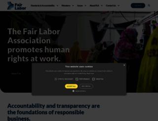 fairlabor.org screenshot