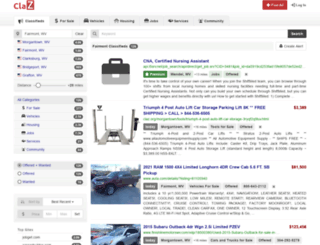 fairmont.claz.org screenshot