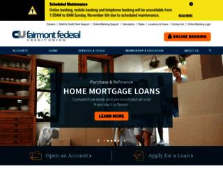 fairmontfcu.com screenshot
