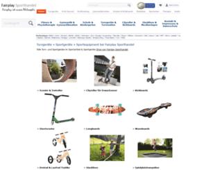 fairplay-sporthandel.de screenshot