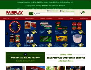 fairplayfoods.com screenshot