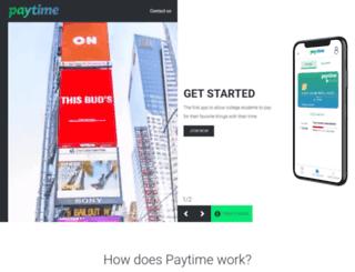 fairtimeapp.com screenshot