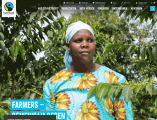 fairtrade.at screenshot