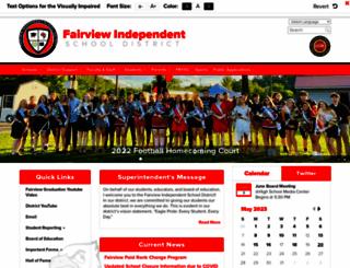 fairview.k12.ky.us screenshot
