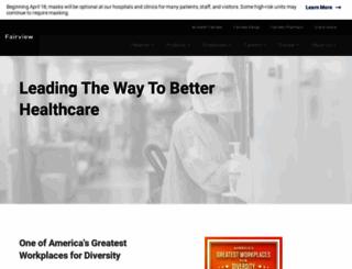 fairview.org screenshot