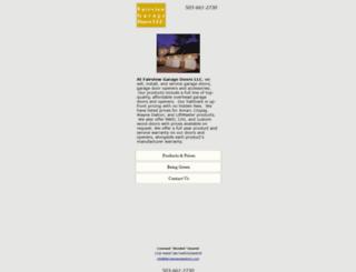 fairviewgaragedoors.com screenshot