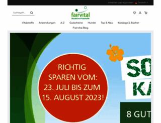 fairvital.com screenshot