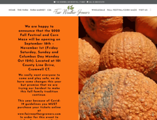 fairweatheracres.com screenshot