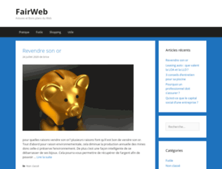 fairweb.fr screenshot