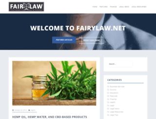 fairylaw.net screenshot