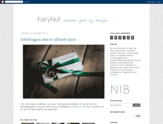 fairynuf.blogspot.no screenshot
