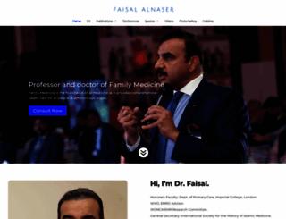 faisalalnasir.com screenshot