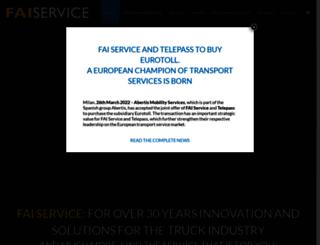 faiservice.it screenshot