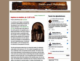 faith-theology.blogspot.com screenshot
