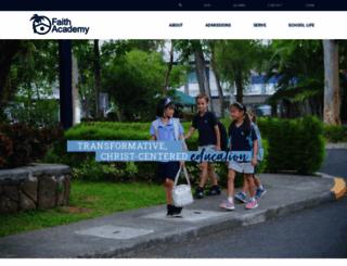 faith.edu.ph screenshot