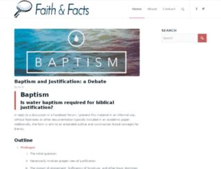 faithandfacts.com screenshot