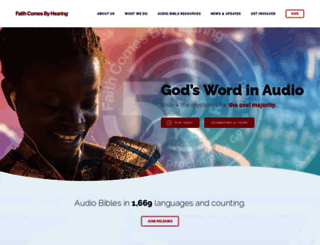 faithcomesbyhearing.com screenshot