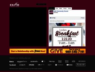faithcommunity.lightcast.com screenshot