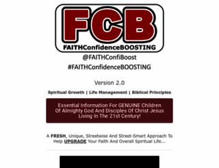 faithconfidenceboosting.com screenshot