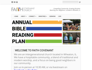 faithecc.org screenshot