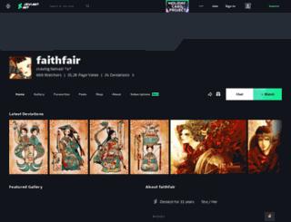 faithfair.deviantart.com screenshot