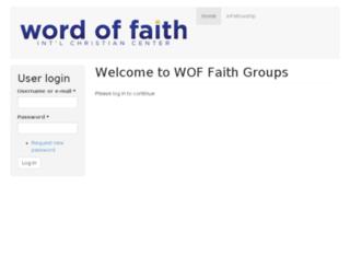 faithgroups.woficc.com screenshot