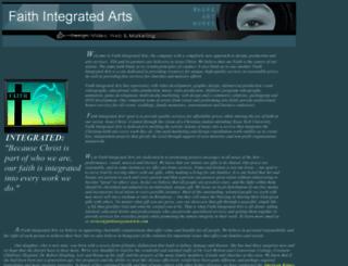 faithintegratedarts.com screenshot
