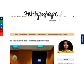 faithjoyhope.blogspot.com.au screenshot
