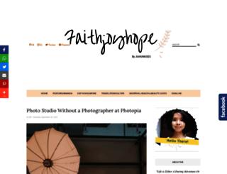 faithjoyhope.blogspot.com screenshot
