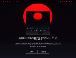 faithless.co.uk screenshot