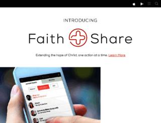 faithshare.tagdev.us screenshot