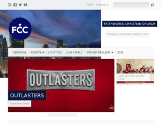 faithworkschristianchurch.com screenshot