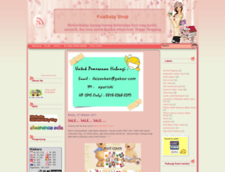 faizbabyshop.blogspot.com screenshot