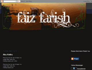 faizfarish.blogspot.com screenshot