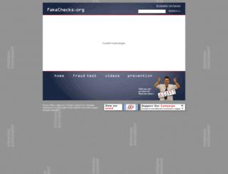 fakechecks.org screenshot