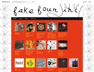 fakefour.bandcamp.com screenshot