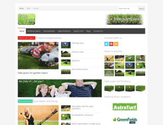 fakegrass.org.uk screenshot