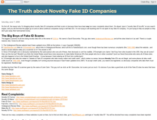 fakeidtruth.blogspot.com screenshot