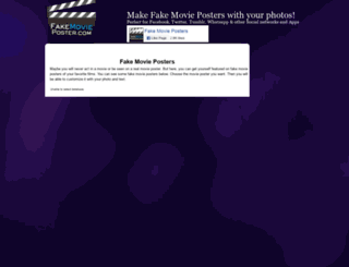 fakemovieposter.com screenshot