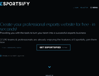 fakesower.esportsify.com screenshot