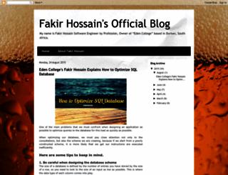 fakirhossain.blogspot.com screenshot