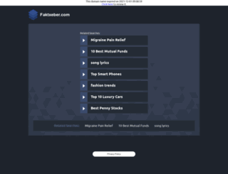 faktxeber.com screenshot