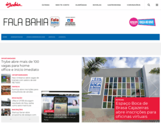 falabahia.com screenshot