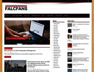 falcfans.com screenshot