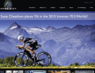 falcobike.com screenshot