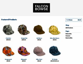 falconbowse.com screenshot