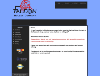 falconbullets.com screenshot
