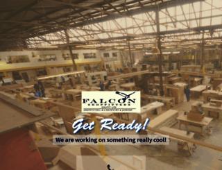 falconshopfitters.co.za screenshot