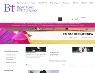 faldasdeensayo.com screenshot