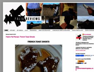 faliaphotography.com screenshot